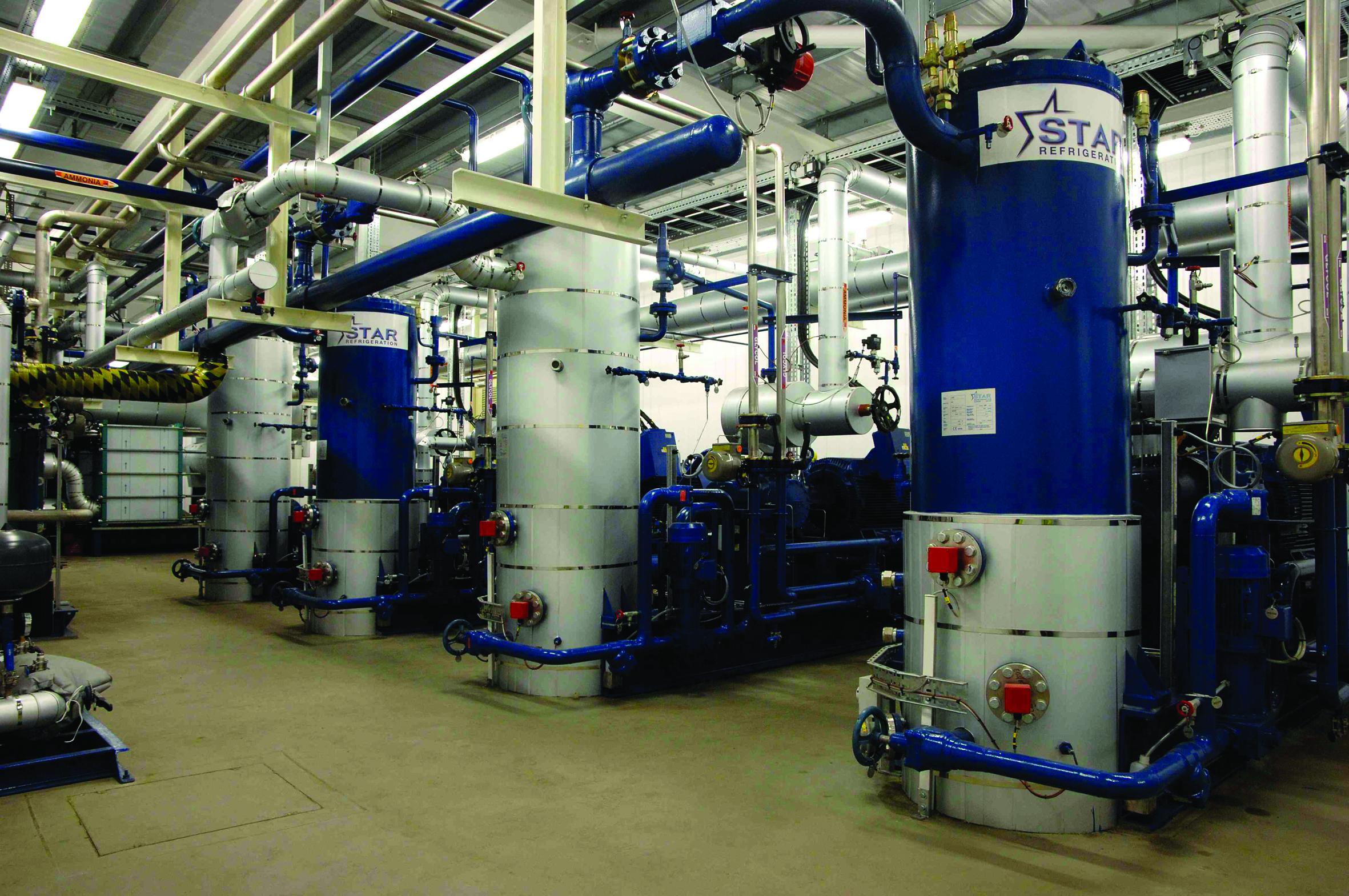 Industrial heatpumps