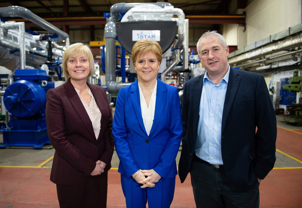 first minister next to Dave Pearson